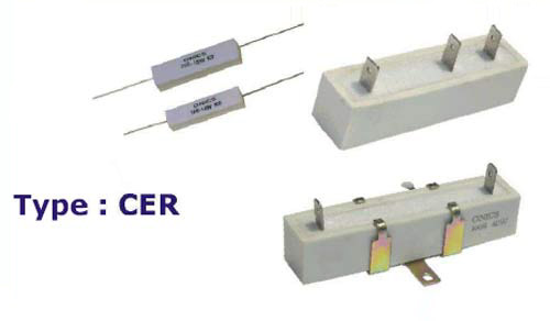 Ceramic Encased Wire Wound Resistor